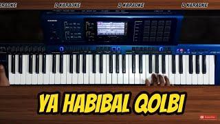 YA HABIBAL QOLBI karaoke tanpa vokal