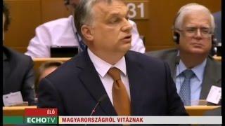 Magyarországról vitáztak - Echo Tv