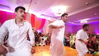 AWESOME MEHNDI DANCE -- BUFFALO BOYS - 2016