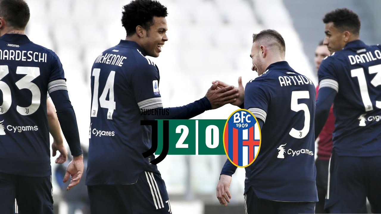 Juventus vs Bologna 2–0 Highlights