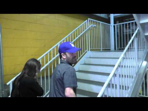Kevin Weisman talks about the movie The Gift as h leaves ArcLight Theatre in Hollywood