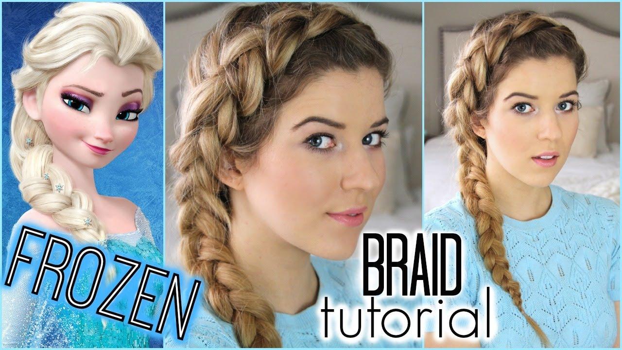 Image result for elsa braid tutorial