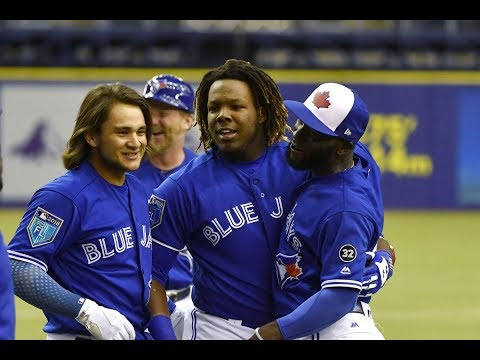 Vladimir Guerrero Jr 1st Player To Receive An 80 On MLB Pipeline Hit Tool