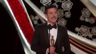 Deepfake of Rami Malek Oscar as Freddie Mercury