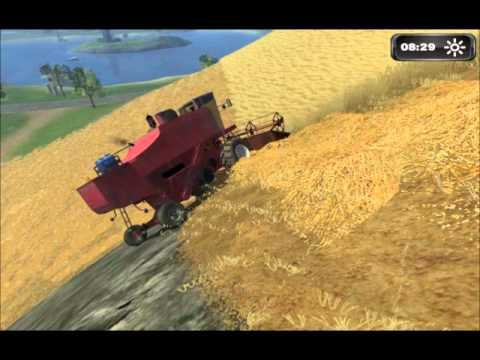 Thumbnail: Part 2-Farming simulator 2011 hire work on hill CP12+T660