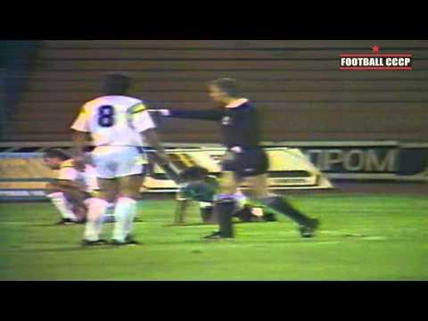 24 Тур Чемпионат СССР 1991 Динамо Киев-Арарат Ереван 4-3