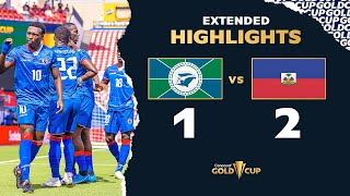 Extended Highlights: Martinique vs Haiti - Gold Cup 2021