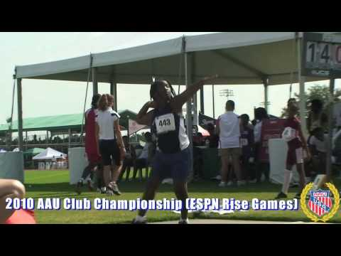 2010 AAU Athletics Club Championship [ESPN Rise Games]