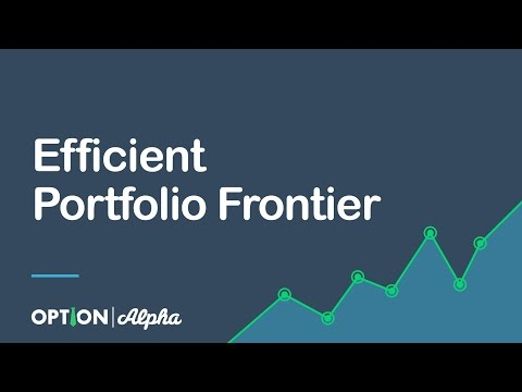 Efficient Portfolio Frontier