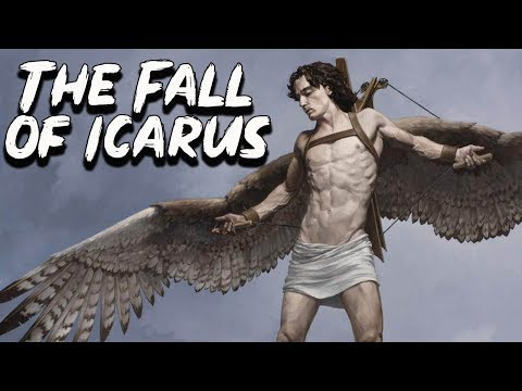The Fall Of Icarus ( The Flight Of Daedalus And Icarus) - Greek Mythology - See U In History
