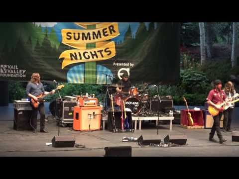 Devon Allman Band - full show - 8-16-16 Ford Amphitheater Vail, CO SBD HD tripod