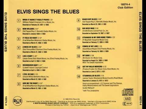 Elvis Sings The Blues