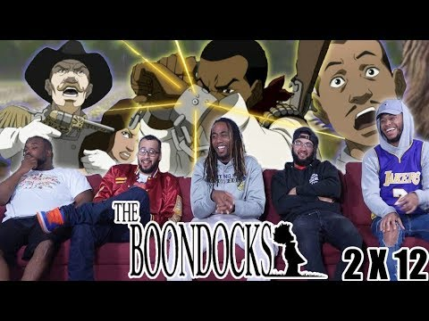 """Download The Boondocks 2 x 12 Reaction! The Story Of Catcher Freeman"""""""
