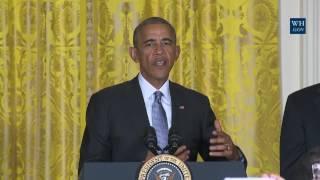 Obama Celebrates Hispanic Economic & Education Progress - Full Event