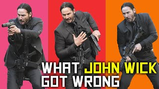 POLICE TRAINER Explains What JOHN WICK Got Wrong