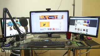ULTIMATE GAMING & YOUTUBE RECORDING SETUP
