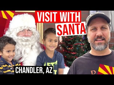 Christmas Visit With Santa, Downtown Chandler, AZ | Living In Phoenix, Arizona Suburbs