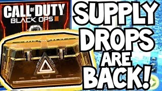 supply drops are back in black ops 3   bo3 supply drops   black market