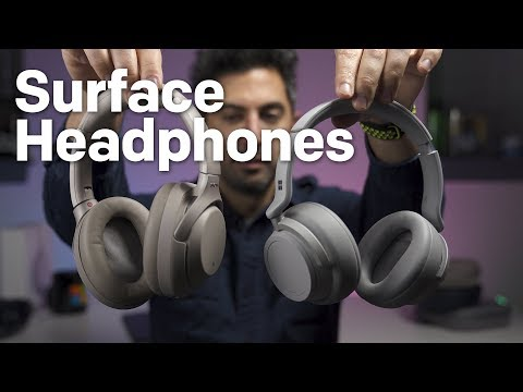 Surface Headphones review: Comfortable with awesome audio, but noise