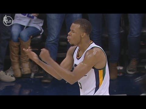 Rodney Hood Game Winner vs Mavericks! Shot Clock Cheese! Utah Jazz