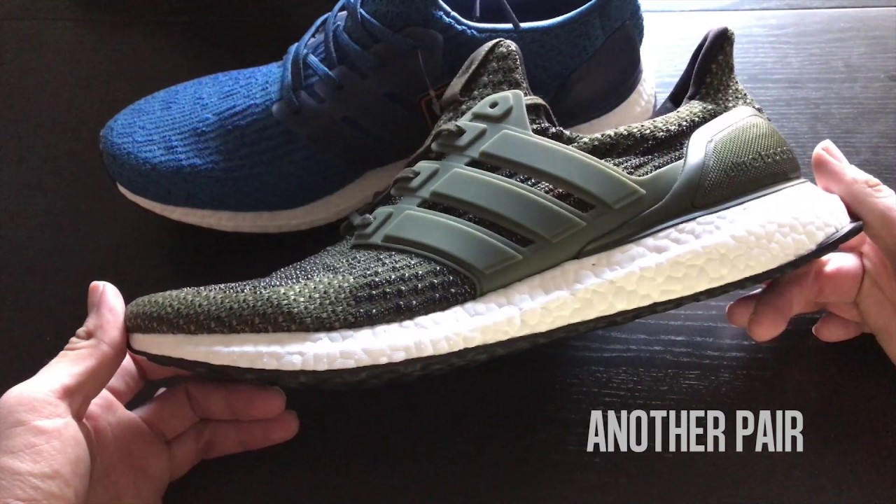 df34c5136 Ultra Boost 3.0 Trace Cargo On Foot + Up Close! - YouTube