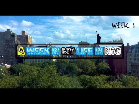 A Week in my Life - College at NYU & living in NYC  |  WEEK 1