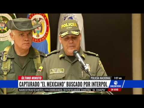 Capturado alias 'El mexicano', buscado por la Interpol
