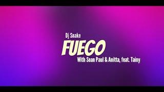 Terjemahan Lagu Fuego - Dj Snake (With Sean Paul, Anitta, Feat. Tainy