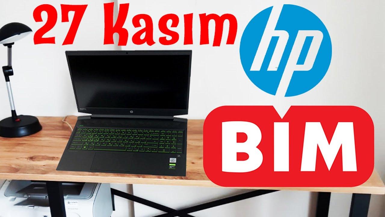 BİM 27 KASIM 2020 | HP PAVILION 16 İNÇ GAMING LAPTOP , Intel i5, 8Gb RAM, 256SSD, Pazarcı Dayı