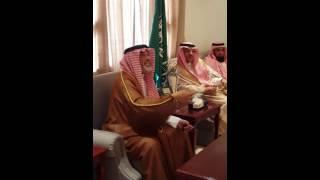 استقبال محافظ عفيف لمعالي مدير جامعة شقراء
