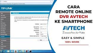 port forwarding for surveillance cctv camera and dvrs avtech