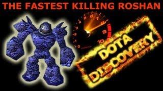 Дота. Самое быстрое убийство Рошана. Мировой рекорд. Dota Discovery(, 2013-03-22T20:21:47.000Z)