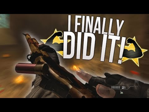 I Finally Did It! - Modern Warfare 3 LIVE (MW3 Model 1887 Road to Gold)