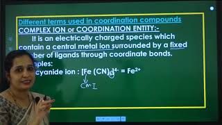 II PUC   Chemistry   Co-ordination compounds- 01