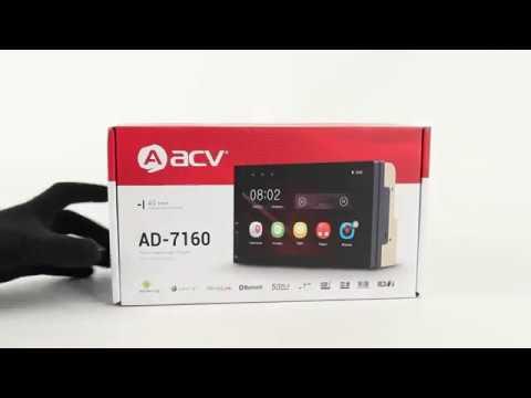 Автомагнитола ACV AD-7160 (обзор)