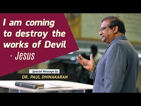 """I Am Coming To Destroy The Work Of The Devil"" - Jesus (English - Tamil) 