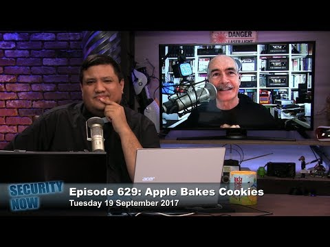 Security Now 629: Apple Bakes Cookies