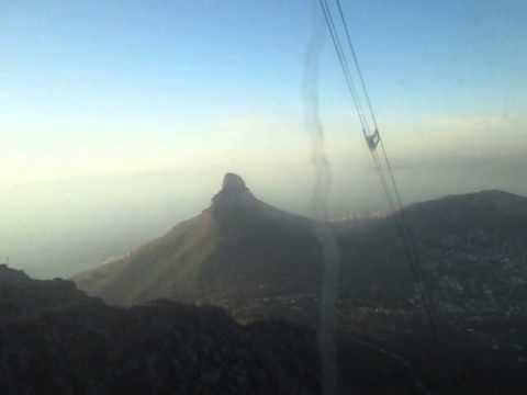 Cape Town Qodariyah Travel Part 57 Table Mountain 1 Cable car MVI 7929