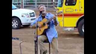"Larry Gatlin & the Woodward Oklahoma community singing ""Amazing Grace"""