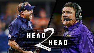 Head to Head: Auburn vs. LSU