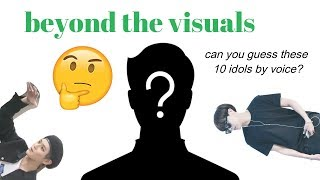would you stan these idols beyond the visual?