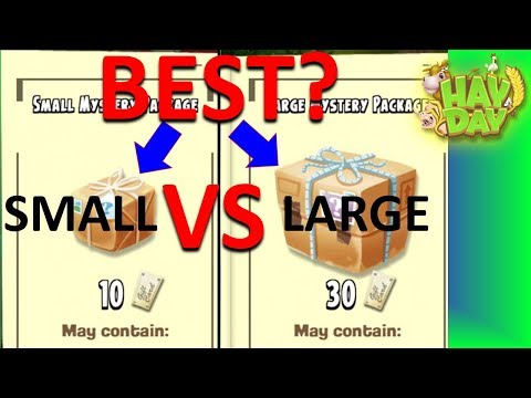 HAY DAY - WHAT IS THE BEST PACKAGE TO GET? WHICH ONE GIVES MORE VALUE? PROBABILITIES AND ALFRED!