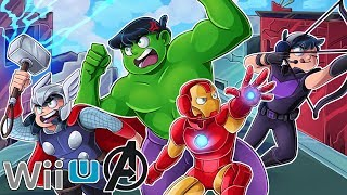 Avengers except it's on the Wii U
