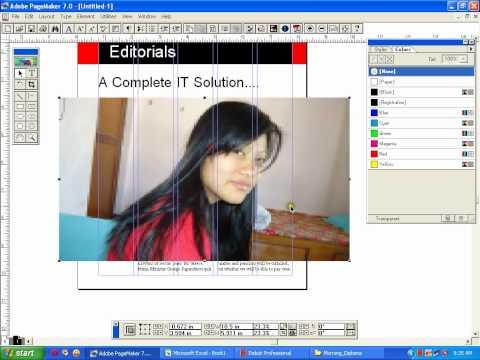 Magazine design in Adobe Pagemaker - MB kunwar