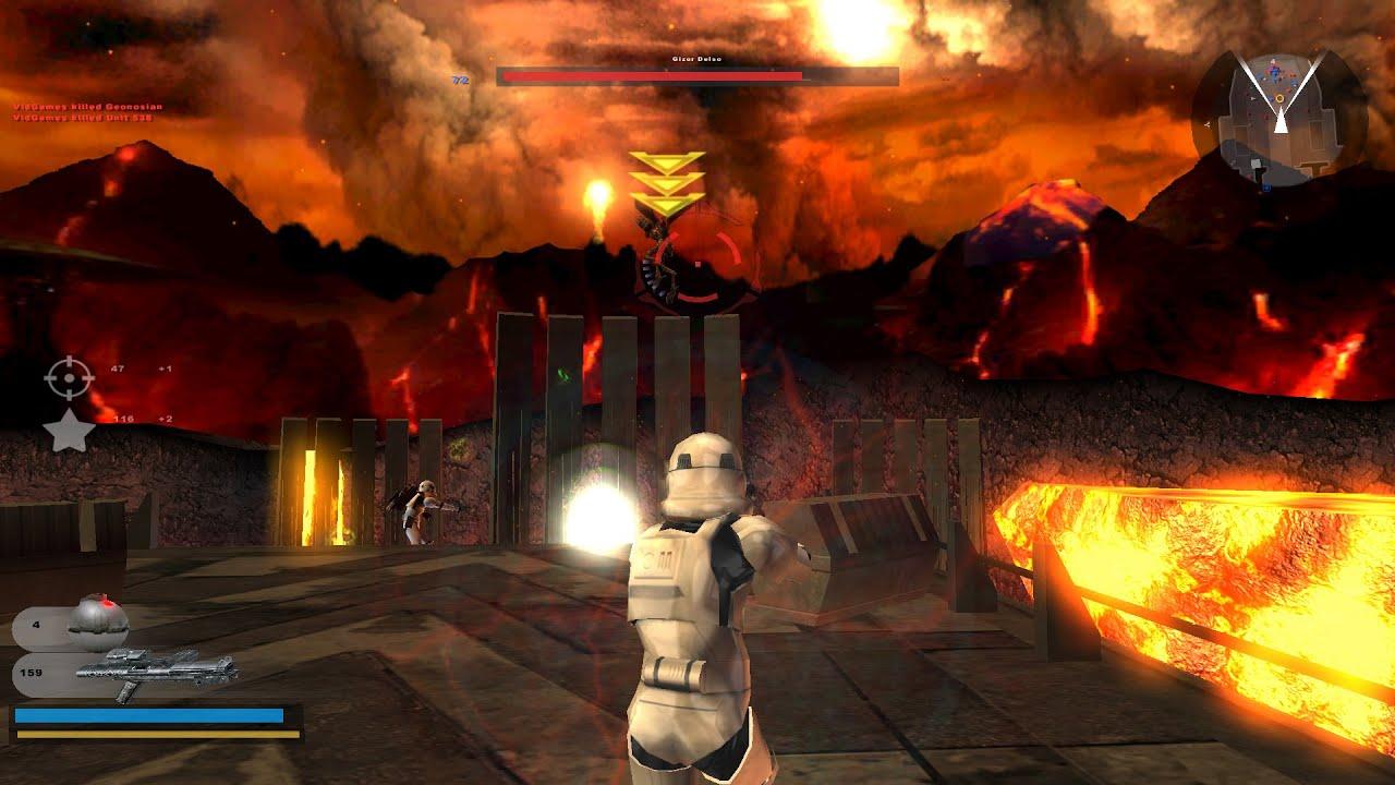 Sith Wallpaper Hd Star Wars Battlefront 2 Gameplay 7 Mustafar Tying Up