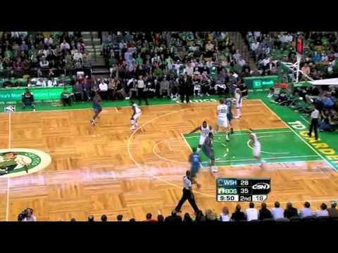 2010-11 Boston Celtics VS Washington Wizards (No John Wall)