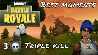 Fortnite-Best/Funny moments, Hiding tactics, crossbow troll.(old S3)