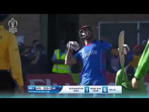 Afghanistan qualifies for ICC Cricket World Cup 2019
