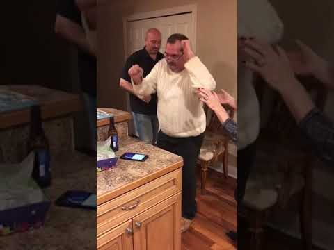 Curtis - Drunk Dad Falls Down While Dancing At Holiday Party