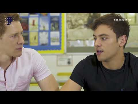 Dustin Lance Black and Tom Daley on #Back2School Bullying (Anti-Bullying)